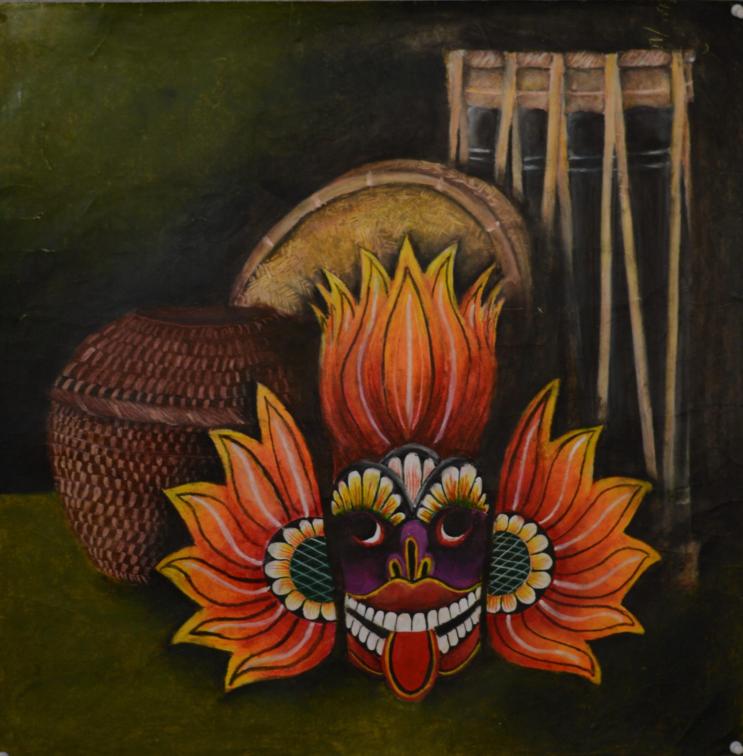 A few items that are representing the uniqueness of Sri Lanka_D. A. Ruwanara Saminthi