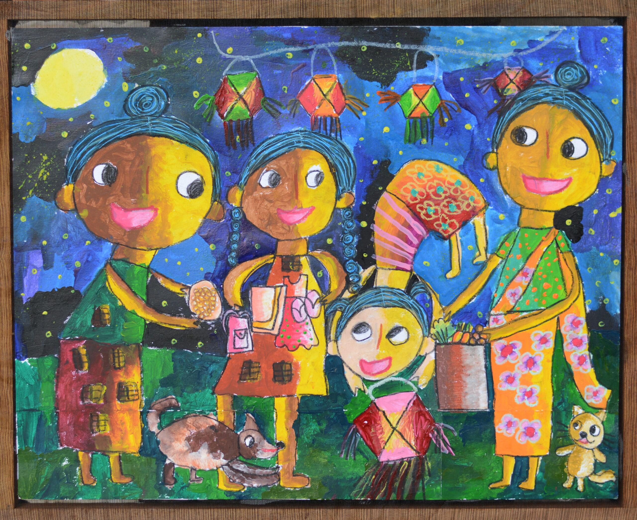 A free meal donation on a Wesak Full Moon poya day_D.M.Dasithi Hesara Dissanayake