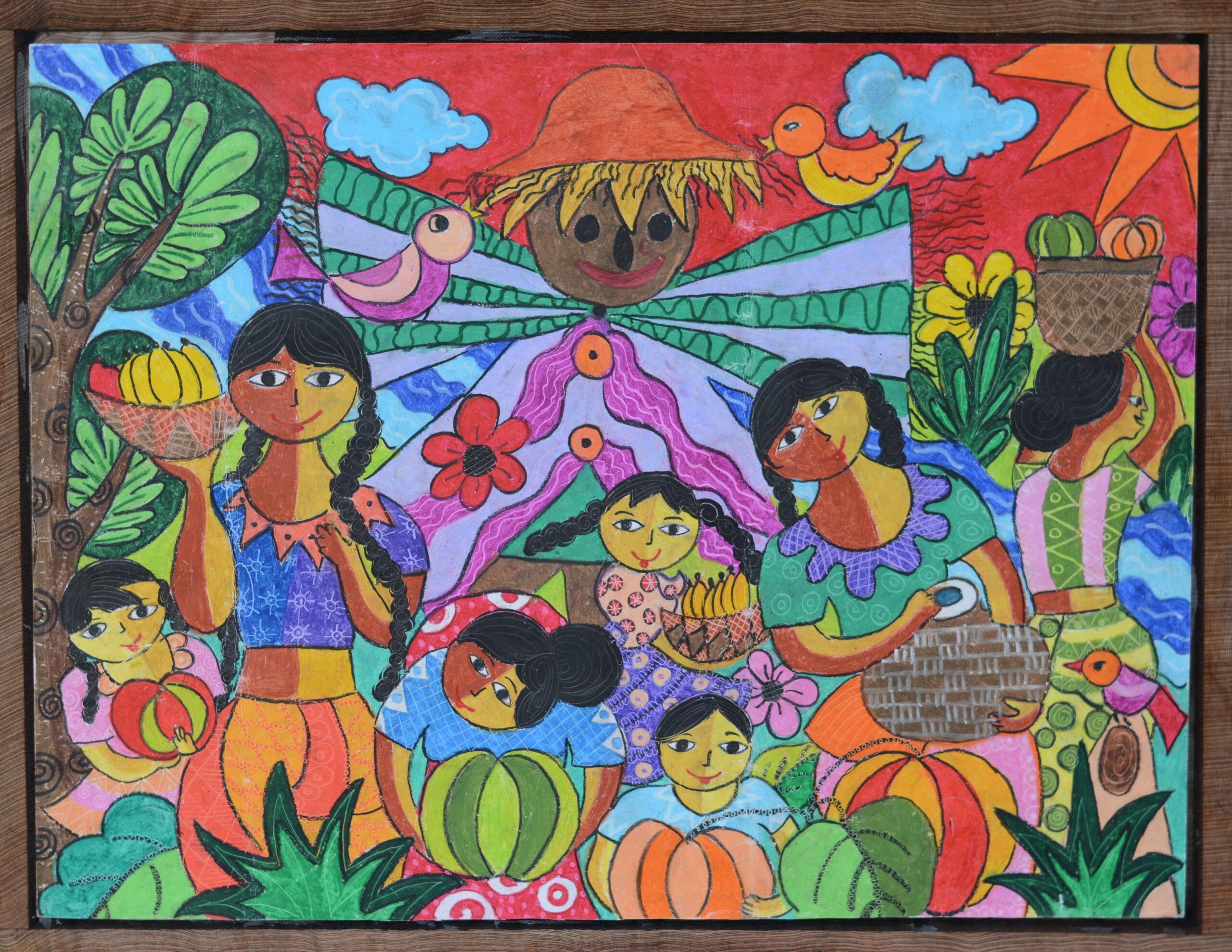 A vegetable garden I saw_R. A. Nethumi Nulara Rupasinghe