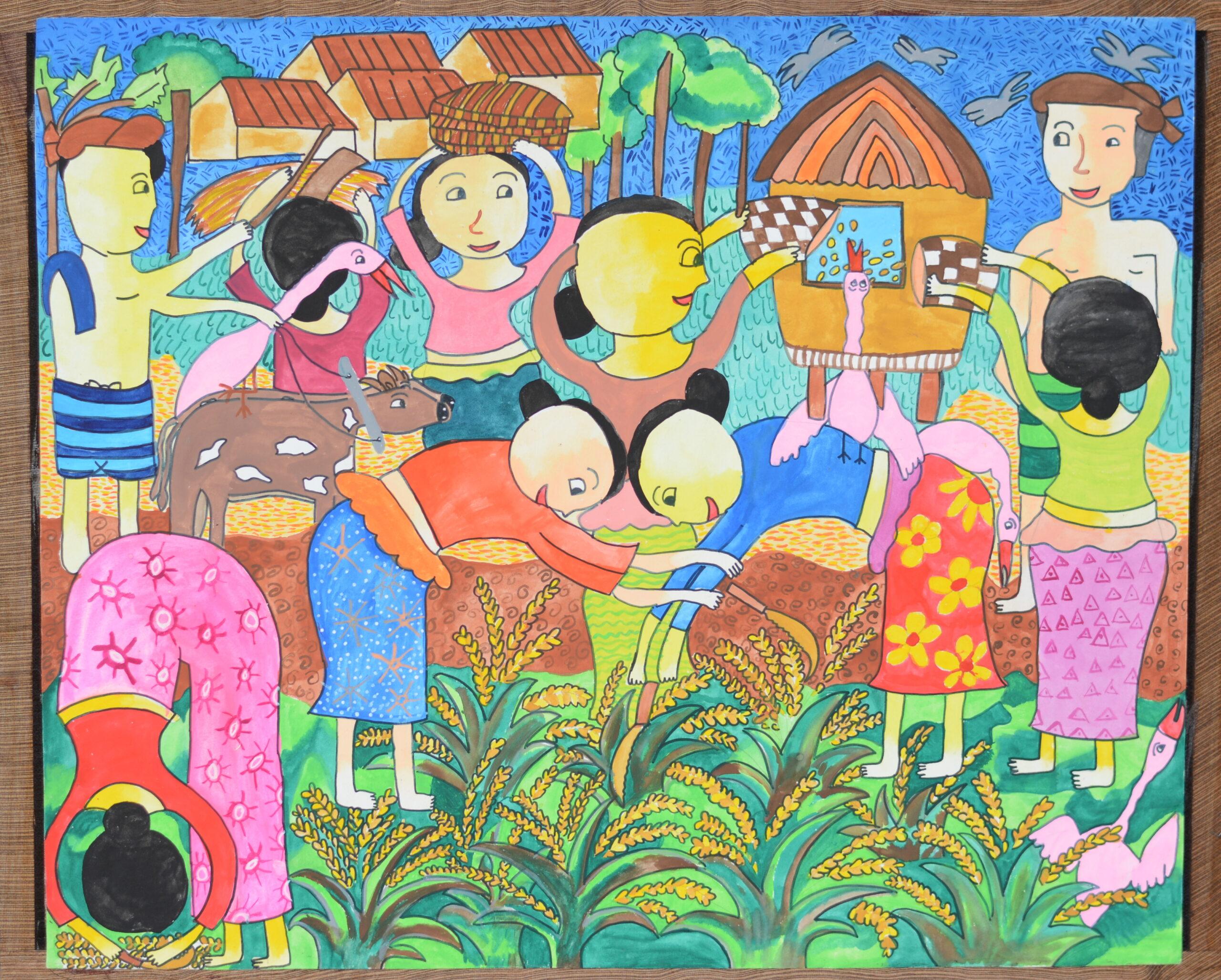 Let us harvest the paddy_A. M. B. Dihansa Thusanmi Rathnayake