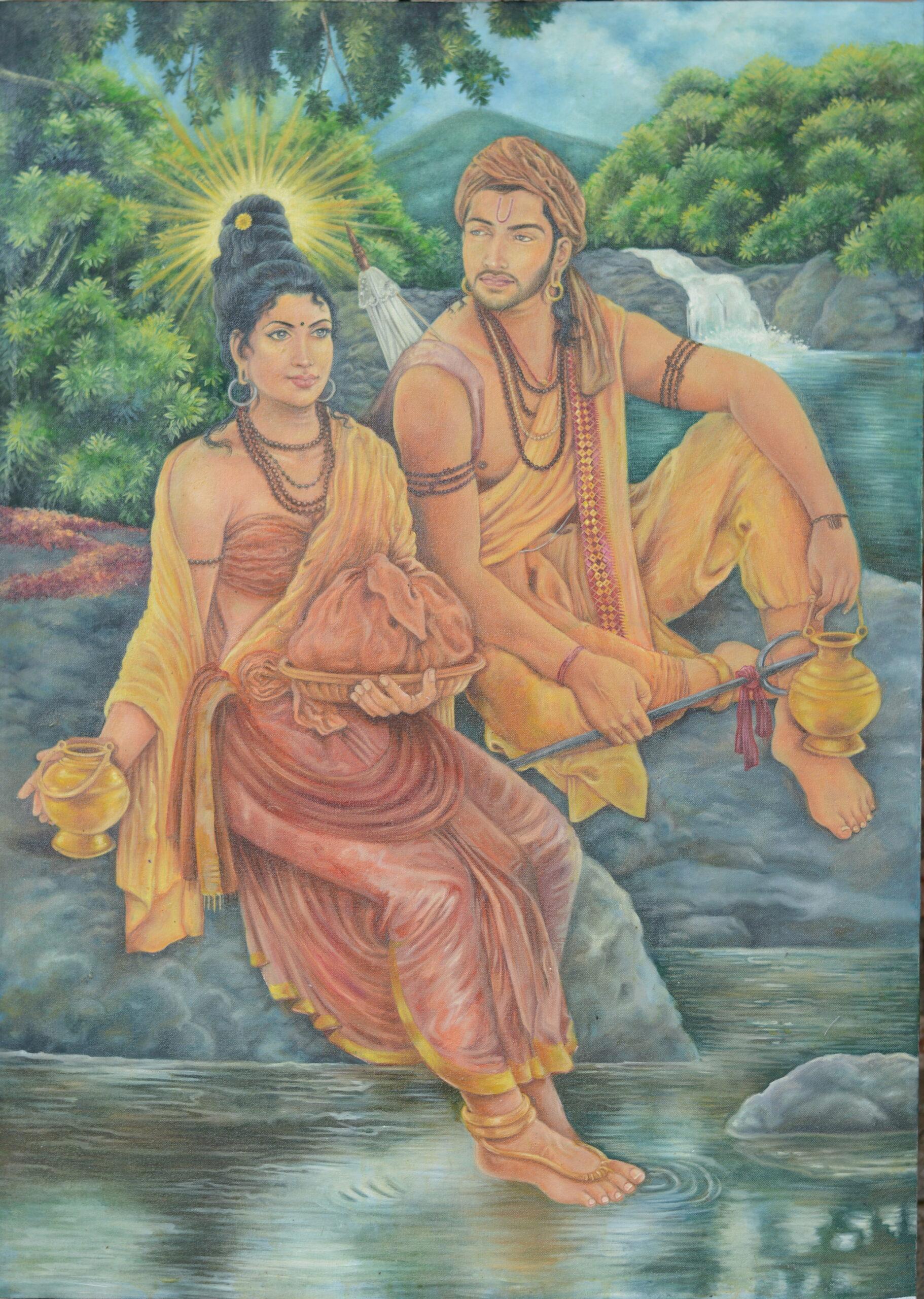 Princess Hemamala and Prince Dantha_P. Ashan Isuranga Perera