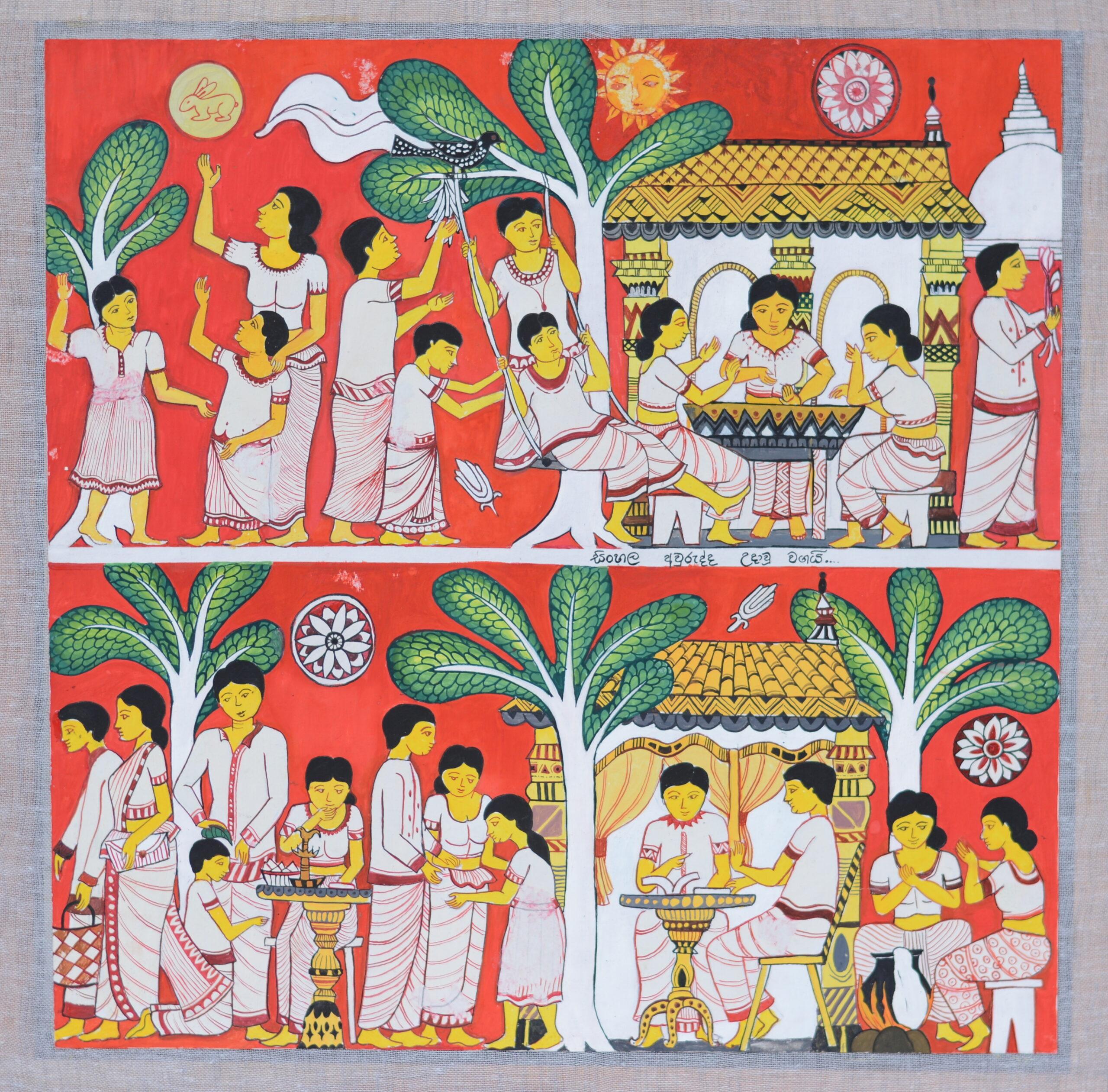 Sri Lankan New year celebrations and its customs_Savindi Nadeesha