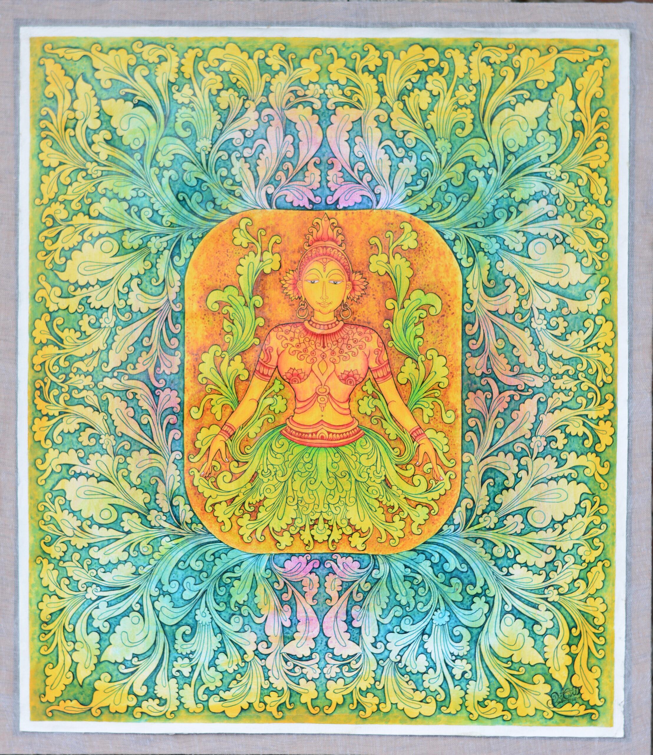 The Goddess of fortune_U.G.Kalani Poornima Gunawardhana