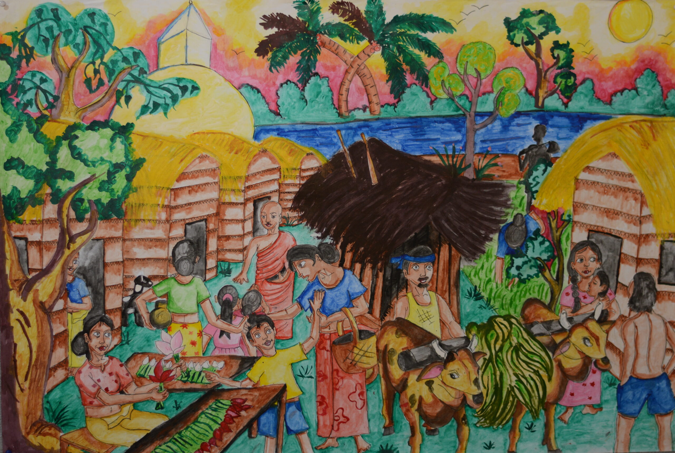 The ancient Sri Lankan life with a sustainable economy_S. D. Amanda Pabasara