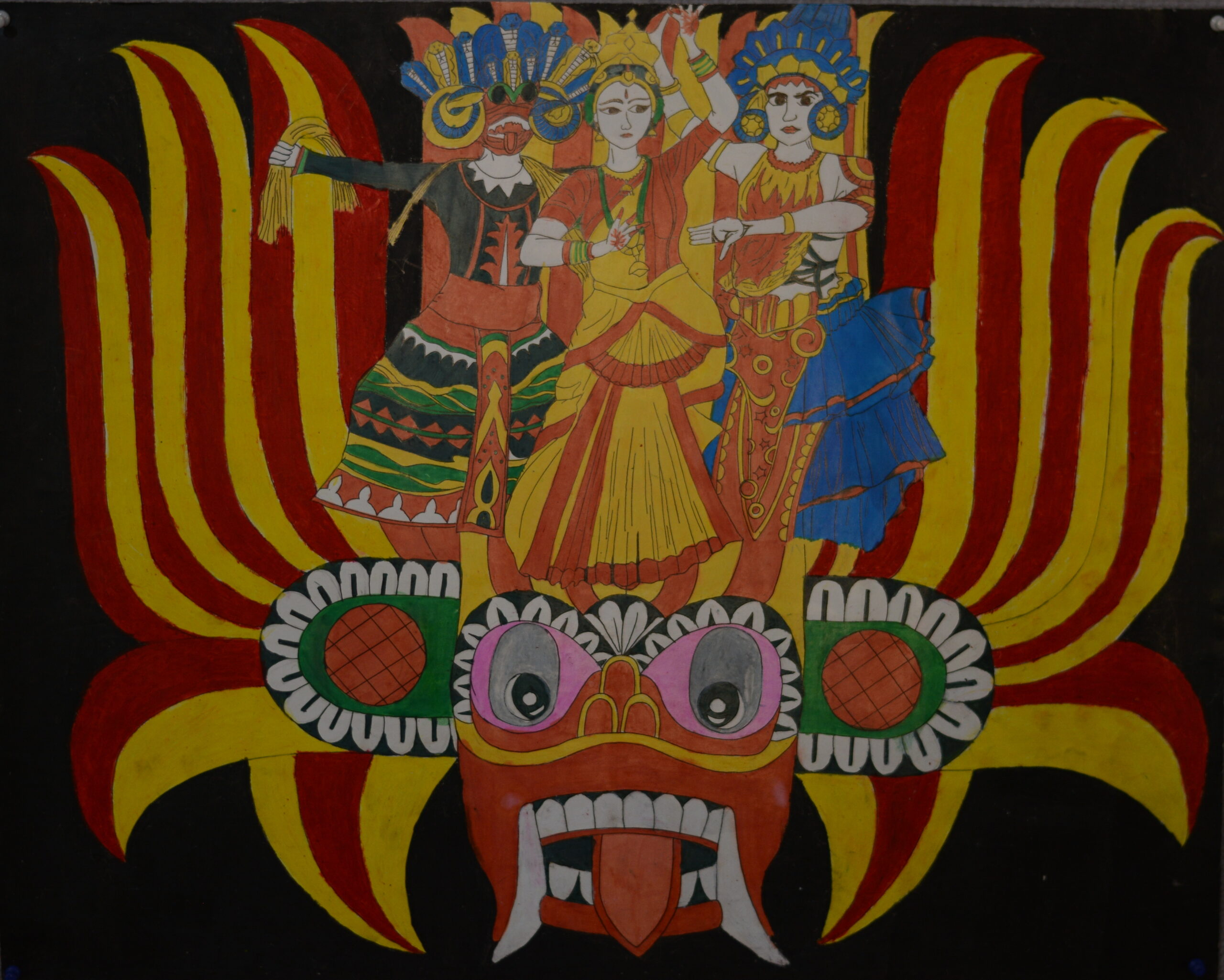 The traditional dancing forms in Sri Lanka_T. M. Amaya Sandeepani Tennakoon