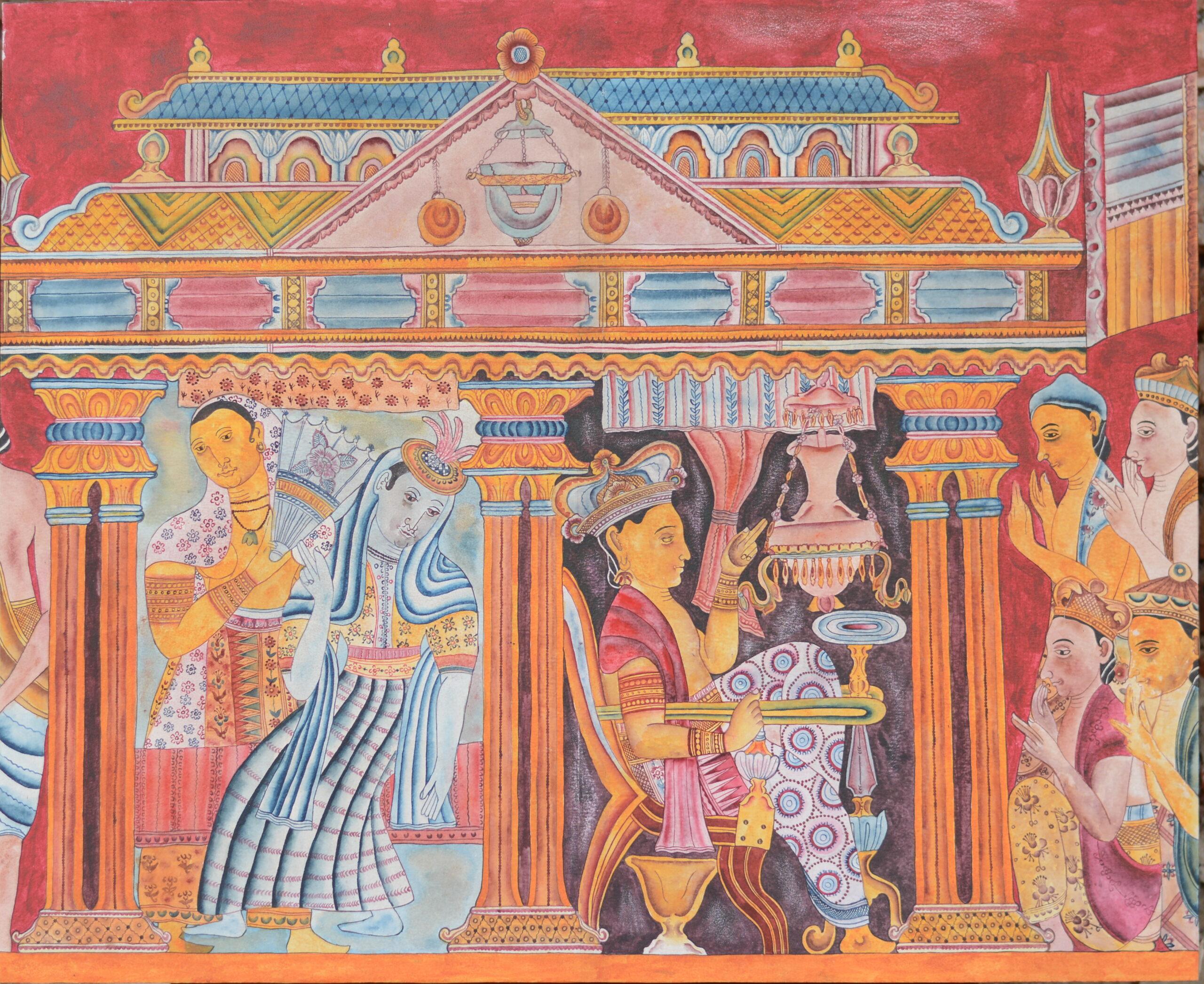 Traditional Arts (Kattahari Jathaka tale)_I.D.Lahiru Sampath
