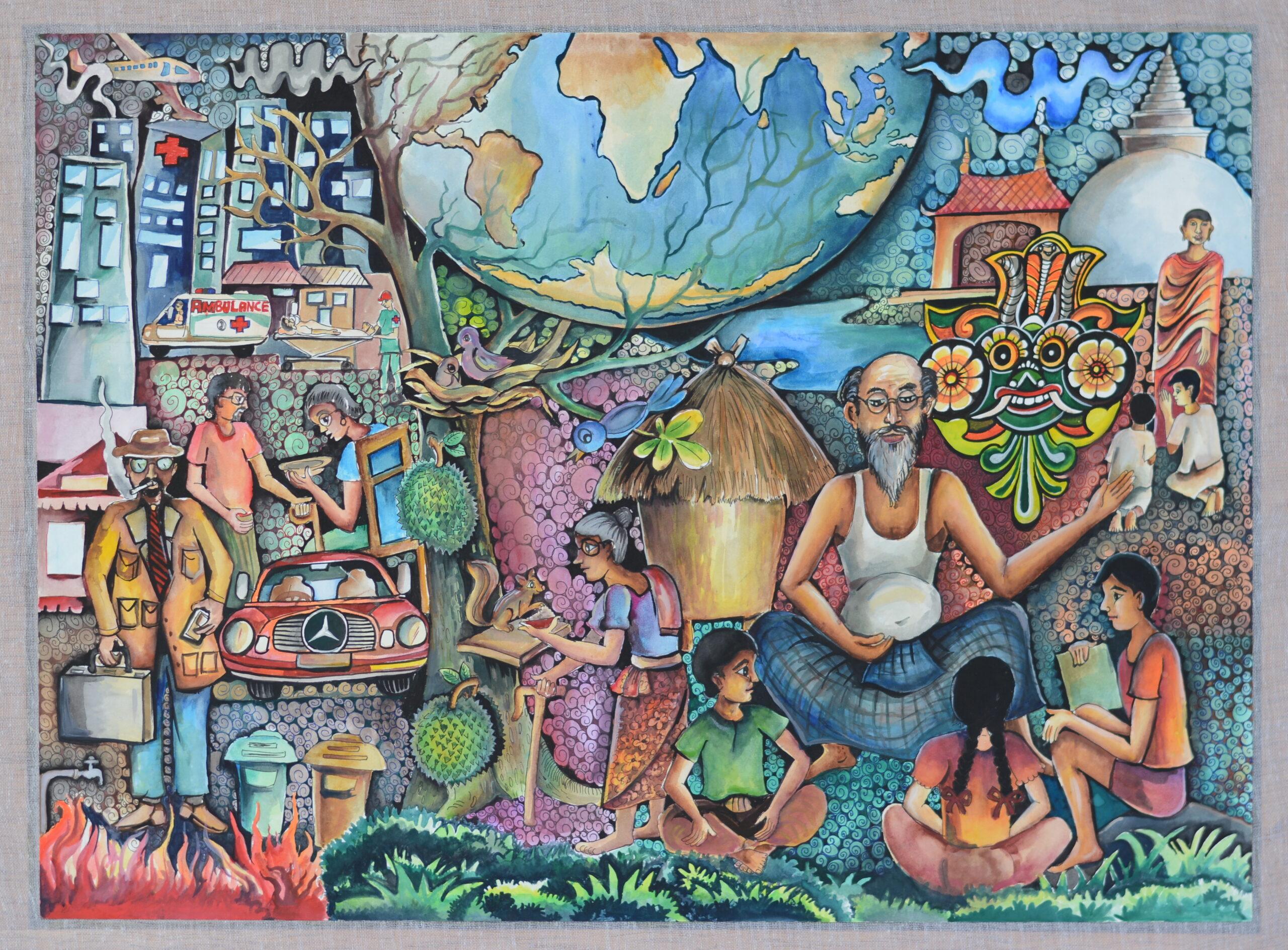Traditional way of life and their destiny_B.K.Rachika Rinusha Biyanwala